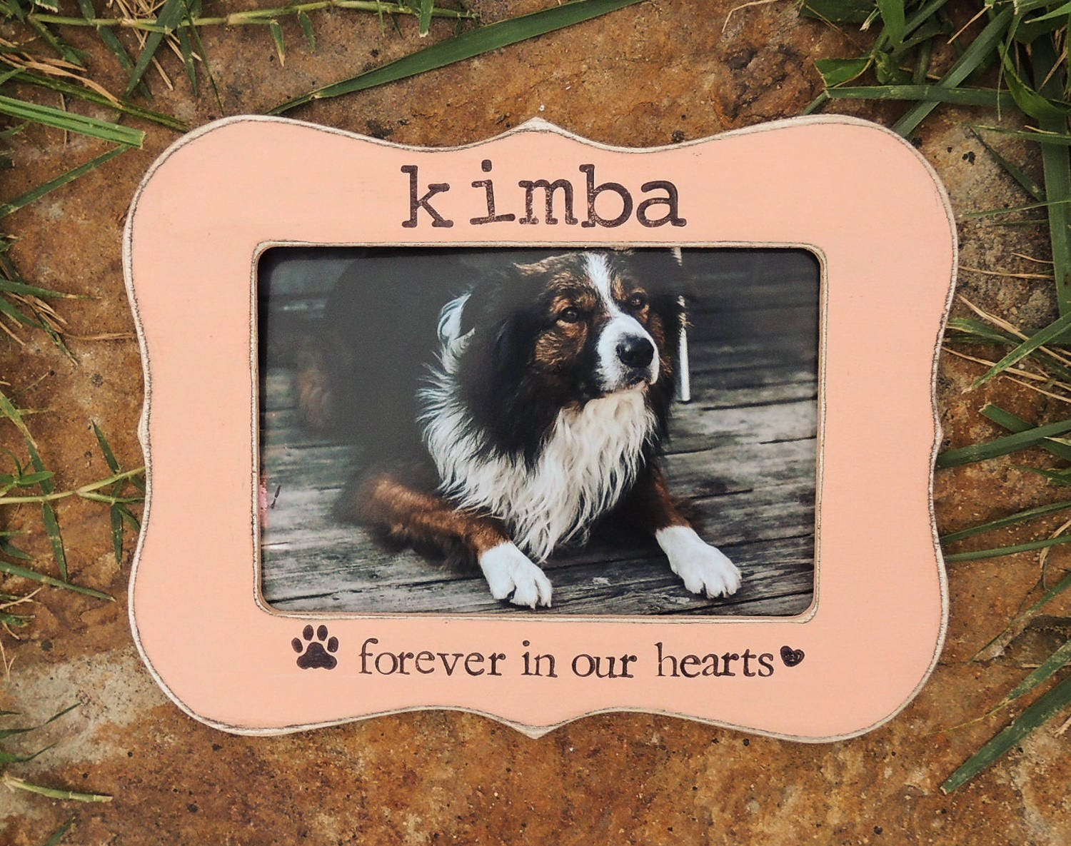 Personalized Pet loss gift Dog Frame Cat Pet Sign Pet Sympathy | Etsy