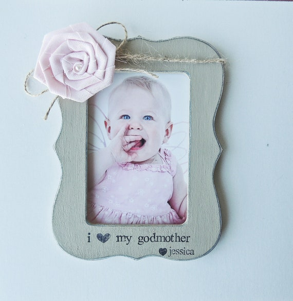 Personalized Godmother Gift Frame Godfather Godmother Picture Etsy