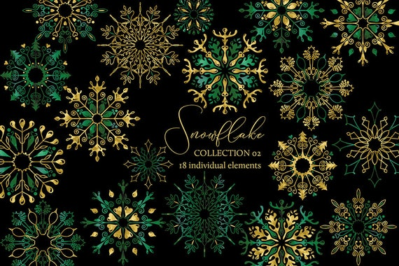 Weihnachtskarten Clipart.Items Similar To Christmas Clipart Snowflake Clipart Winter