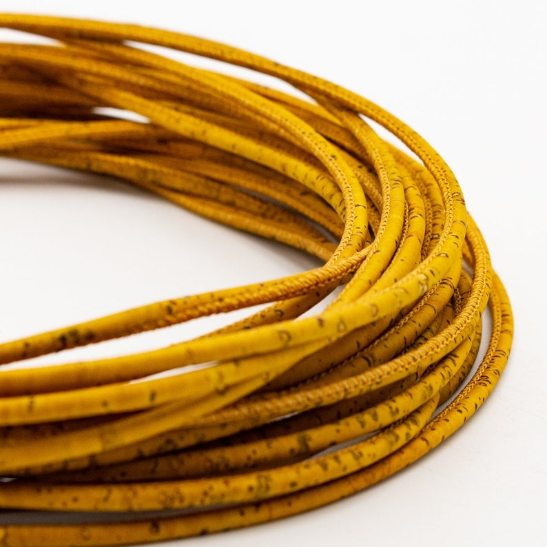 jewellery making and design Cork Cord Environmentally Friendly and Organic,Various Sizes and Styles Available COR 358 Natural and Vegan