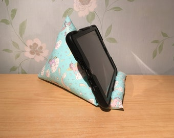 Unicorn Tablet / Phone / Kindle / E Reader Stand / Holder / Cushion / Pillow / Bean Bag