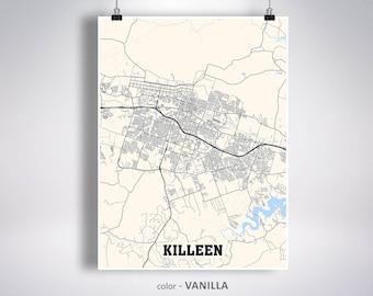 city map of killeen texas