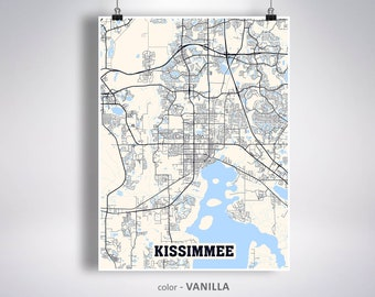 Kissimmee map art | Etsy on kissimmee neighborhood map, kissimmee area map, kissimmee street names, kissimmee area attractions, kissimmee florida, kissimmee downtown map,