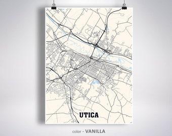Utica Ny Poster Etsy