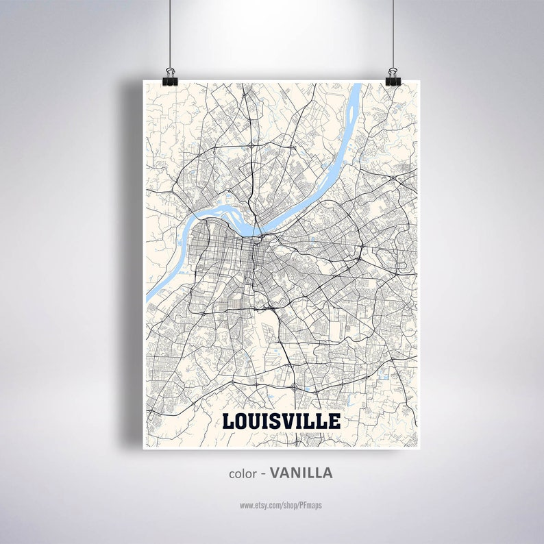 Louisville Map Print, Louisville City Map, Kentucky KY USA Map Poster, on mississippi in kentucky, road map in kentucky, butterflies in kentucky, weather in kentucky, dinosaurs in kentucky, animals in kentucky, usa map in honduras,