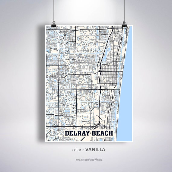 Delray Beach Map Print, Delray Beach City Map, Florida FL USA Map Poster, on town of delray beach map, cypress lake fl map, ocala fl map, alachua fl map, deland fl map, surprise fl map, st. george island fl map, siesta key beach fl map, palm beach gardens fl map, fort myers fl map, indian creek fl map, st. johns river fl map, clearwater fl map, st marks fl map, glen st mary fl map, boca raton fl map, tamiami fl map, palm shores fl map, city of delray florida map, city of delray beach map,