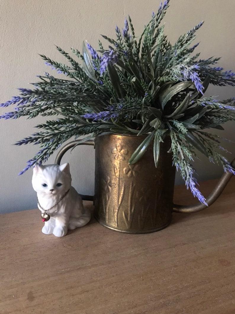 Lefton Birthstone Kitten Lefton Cat Figurine Vintage Kitten Figurine,