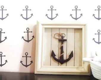 Nautical Decor/ Anchor Decor/ Anchor Wall Decal/ Nautical Wall Decals/ Nautical Decor/ Anchor Wall Decals/ Anchor/ Nursery/ FREE SHIPPING