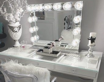 Xl Hollywood Makeup Vanity Mirror With Lights Impressions