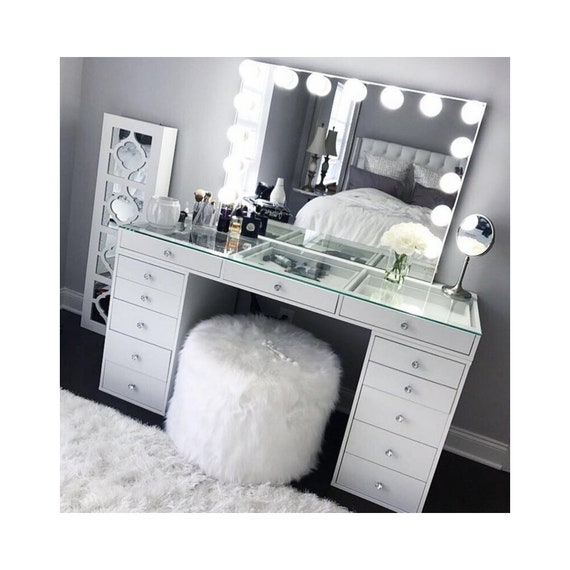 Impressions Vanity Hollywood Mirror With Bulbs And Etsy