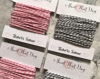 Bakers Twine | String | for labels/tags