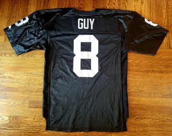 b008adc4c14 Ray Guy Authentic Vintage Oakland Raiders Jersey 48 Starter XL Sewn Rare