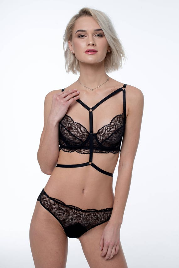 5f9a293894 Harness Lingerie setSexy LingerieStrappy UnderwearSee