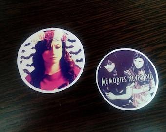 Carmilla Natasha Negovanlis Elise Bauman stickers
