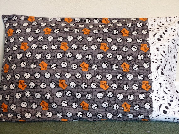 Nightmare Before Christmas Pillow Case Can Be Personalized Etsy