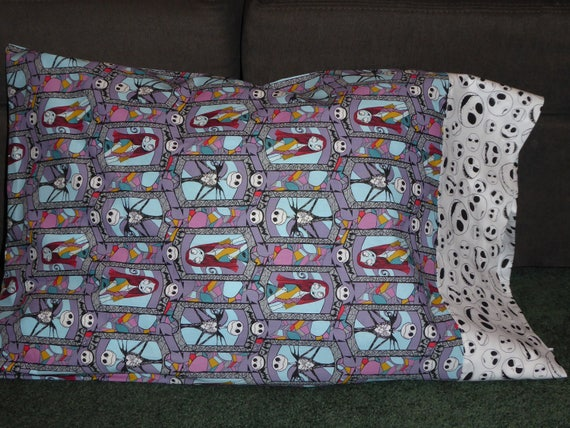 Nightmare Before Christmas Stained Glass Pillow Case W Jack Etsy