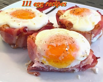 Food recipes etsy 111 egg recipes delightful food homemade ebook pdf digital dowload resale rights forumfinder Images