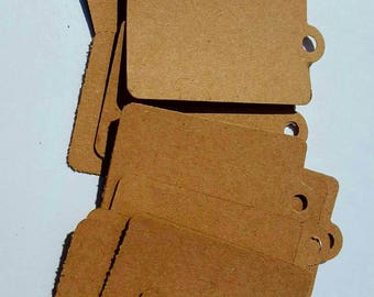 Brown Price labels, Brown labels, Brown tags, Brown price tags, blank brown tags, blank tags, brand tags, shipping tags, Brown Kraft tags