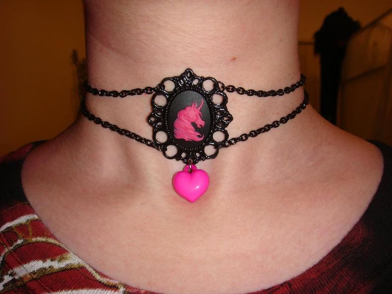 Custom handmade chain choker