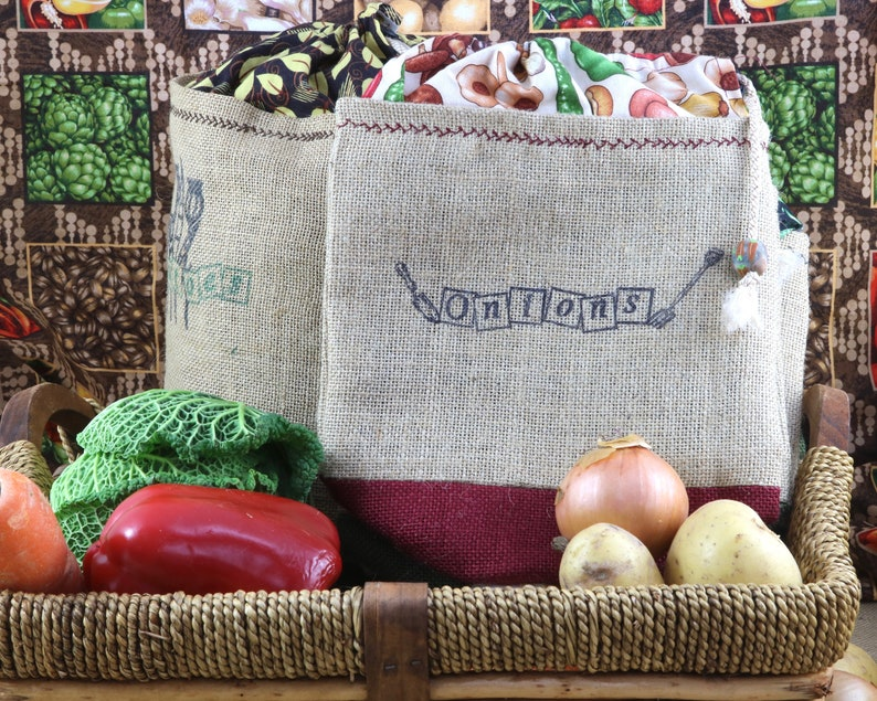eco-friendly Vegetable sack All natural shopping bag. small size