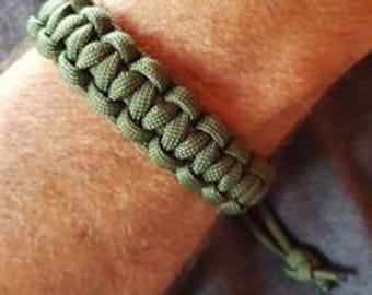 Paracord, survival, bracelet