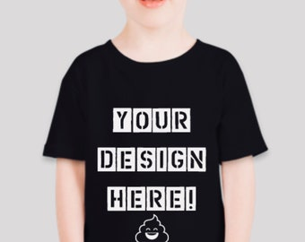 Custom Shirts For Kids Your Design Tshirt Personlized Shirt Birthday Toddler