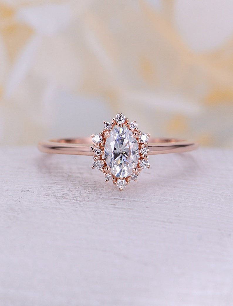 Image 0: Rose Gold Diamonds Rings Wedding Day At Reisefeber.org