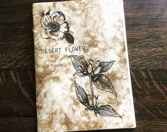 DESERT FLOWERS - Poetry Chapbook