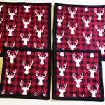 Custom Order for Cheryl Stoker Hall - 2 Potholders and 2 Mug Rugs