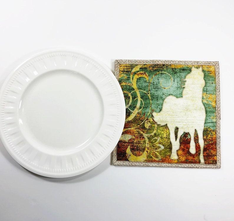 Horse Lover Potholder  Equestrian Gift  Pot Holder  Hot Pad image 0