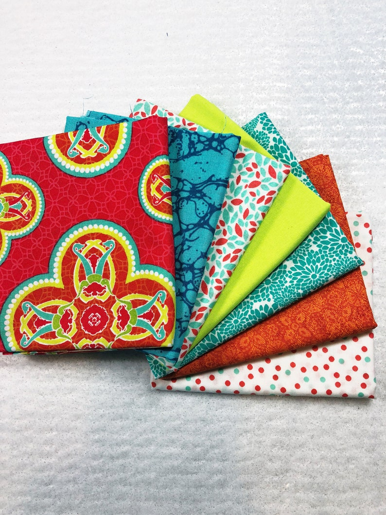 Fat Quarter Bundle  Cotton Fabric for Sale  Quilts for Sale image 0