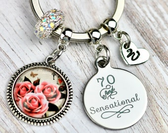 70th Birthday Gift For Woman Idea Her Mum Mom Grandma Friend Sister