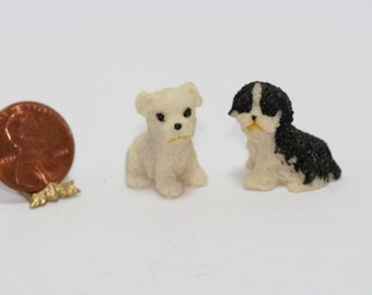 1//12 Dollhouse Miniature Furniture Model Toy Mini Doll Dog Cat Pet Food Toy CYN