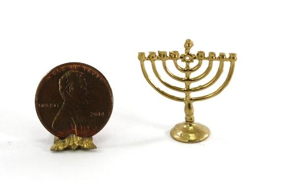 Dollhouse Miniature 1:12 Jewish Chanukah Decoration Set