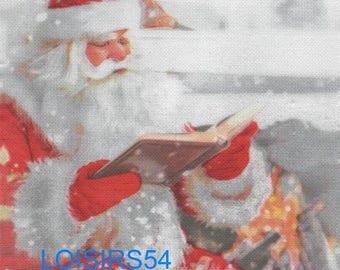 Santa Claus paper towel and book of Christmas - 38 cm x 38 cm