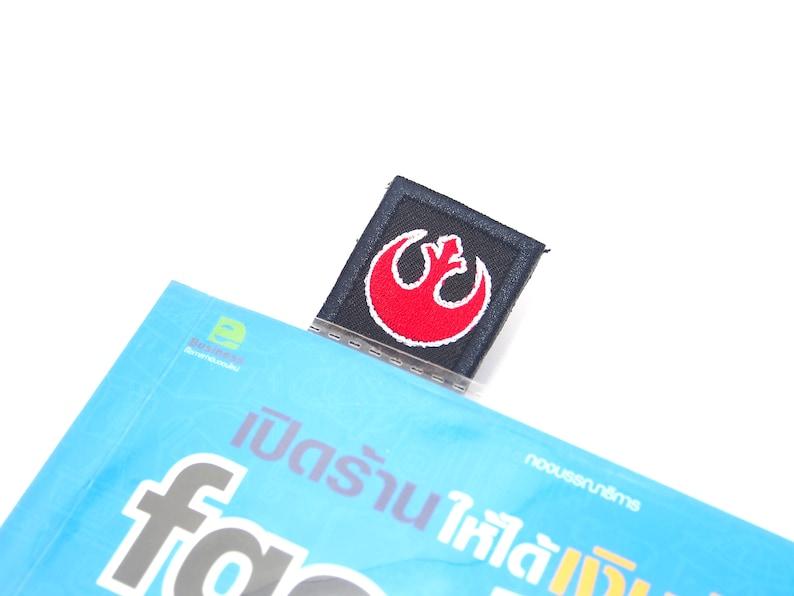 star wars rebel alliance jedi embroidered bookmark paper