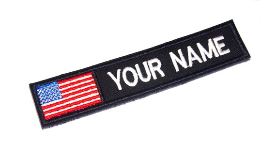 American Flag with Custom name Family Reunion Party Favor Gift Bags