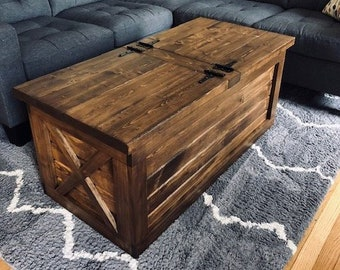 Delicieux Farmhouse Storage Coffee Table (Free Shipping)