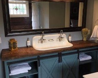 Awesome Bathroom Vanity Etsy Beutiful Home Inspiration Cosmmahrainfo