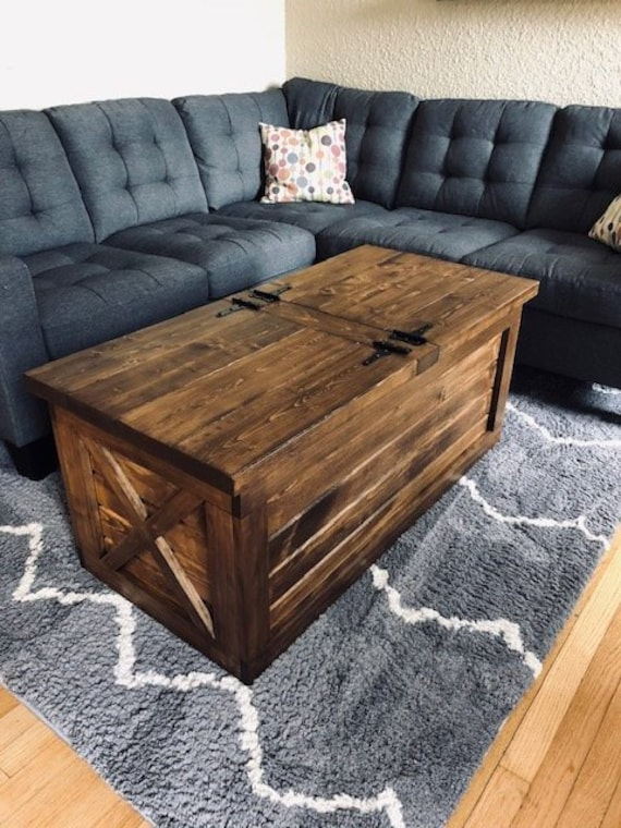 Astonishing Farmhouse Storage Coffee Table Free Shipping Pabps2019 Chair Design Images Pabps2019Com