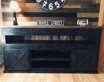 Farmhouse TV Stand (Free Shipping)