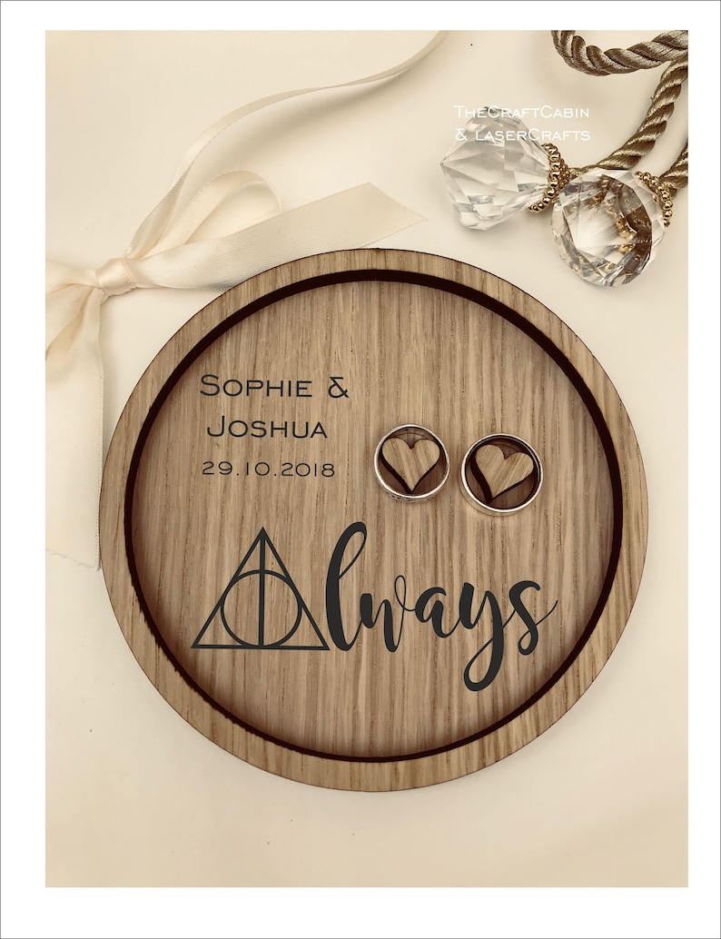 Vintage Gift Rustic Box Pillow Anniversary Wedding Ring Bearer Tray Personalised Engraved Always Harry Potter Weddings See locations, reviews, times, & insurance options and book your appointment today! umandawa