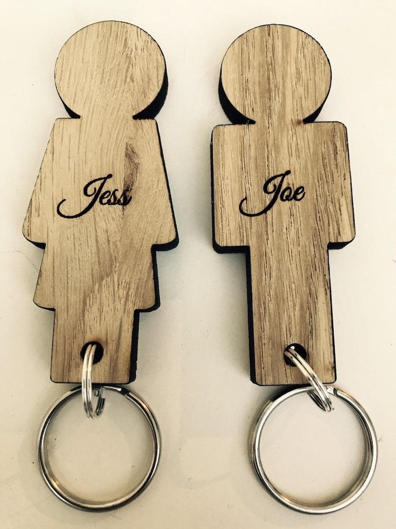 Personalised Engraved Wedding Mr /& Mrs Couple Puzzle Shape Coaster Gift Present