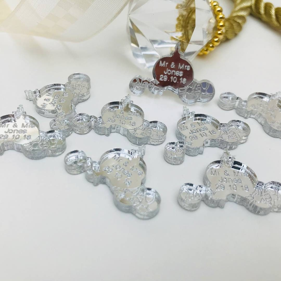 Personalised Fairytale Cinderella Carriage Wedding Confetti Mr