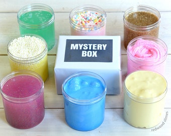 Mystery Slime &  1 FREE Mystery Gift - Package With Extras Makes A Great Present
