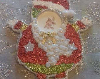 Nice Santa Claus baby wooden picture holder