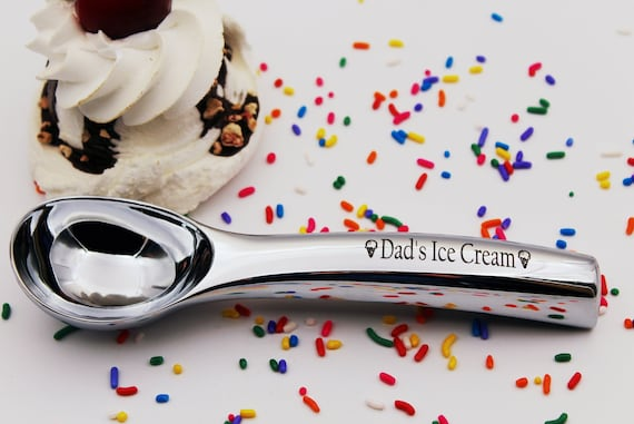 Cool Christmas Gift For Dad.Dads Ice Cream Scoop Great Christmas Gift For An Ice Cream Lover Gift For Dad Custom Engraved Ice Cream Scoop Dad S Ice Cream Ice Cream Gift