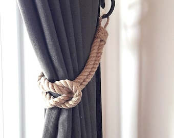 Square Knot Curtain Tie Backs