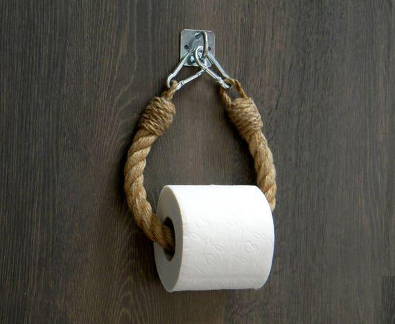 Arredamento Con Corda : Supporto di corda di carta igienica arredamento etsy