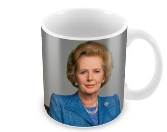 Margaret Thatcher  Ceramic Coffee Mug    Free Personalisation